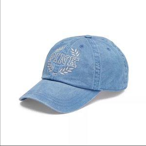 🆕VS PINK Bling Emroidered Logo Baseball Hat